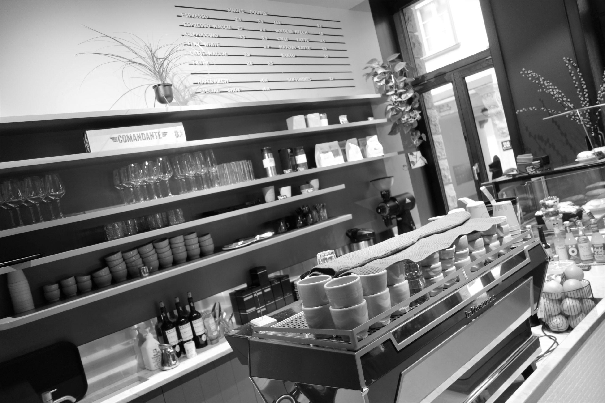 Kaffeeplätze in Deutschland